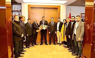 AK Parti'den Vali ziyareti