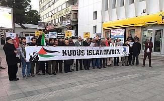 İsrail'e tepki eylemi