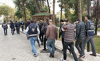 Kablo hırsızlığından 13 zanlı tutuklandı