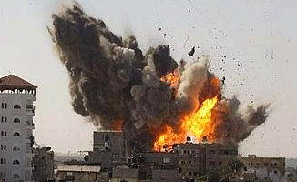 Katil İsrail saldırıyor!