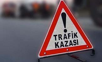 Konaklı'da kaza: 1 ölü, 4 yaralı