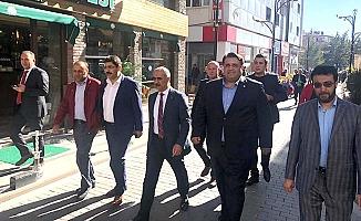 Milletvekili Kaya Sivas'ta