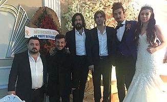 Yakup Alkan evlendi