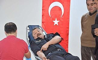 Emniyet Müdürü kan verdi