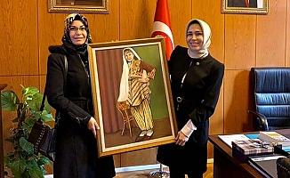 Erdoğan'dan anlamlı hediye