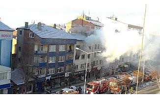 Milönü'nde yangın