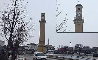 Saat Kulesi yine durdu