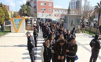 18 ilde operasyon, 40 tutuklama