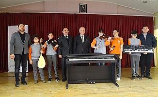 Artık piyano çalacaklar
