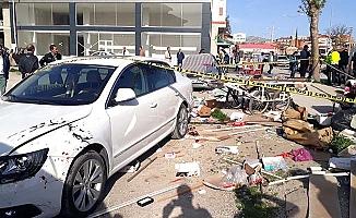 Farabi'de feci kaza: 1 ölü, 2 yaralı