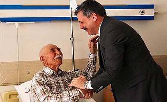 Hasta ziyaretlerine devam