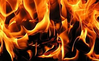 Bir kıvılcım yangın çıkardı