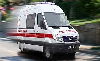Görme engelli kadın düşerek yaralandı