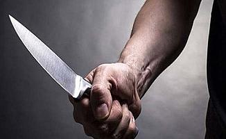 Hastanede bıçaklı kavga