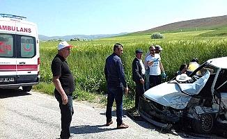 Sungurlu'da kaza, 3 yaralı