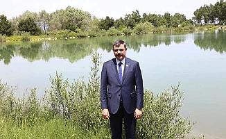 Vali Yeşil Göl'e el attı