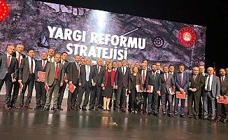 Yaşar, Yargı Reformu toplantısına katıldı