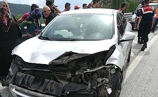 Beygircioğlu'nda bir kaza daha