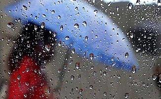 Bölge iller yağışlı