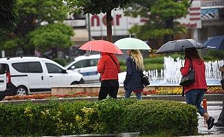 Bugün de yağış var
