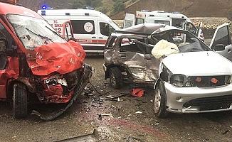 Dana Deresi'ndeki kazada 13 yaralı