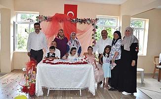 Engelli kızın düğün hayali gerçek oldu