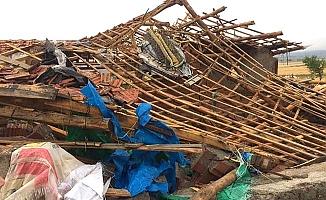O köyde 26 ev hasar gördü