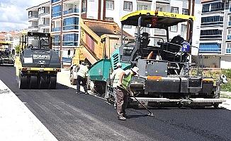 Dönüşüm sonrası asfalt