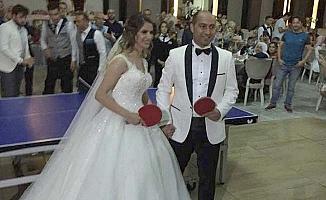 Böyle olur antrenörlerin düğünü