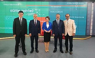 Rektör TRT Haber'e konuştu