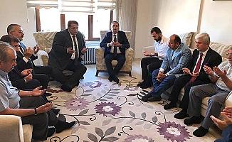 AK Parti'den taziye ziyareti