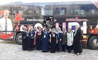 Bayanlar Nevşehir'i gezdi