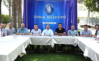 Belediye'de değişim sonrası ilk toplantı