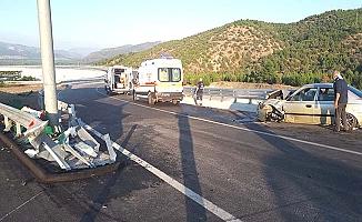 Beygircioğlu Kavşağı'nda kaza