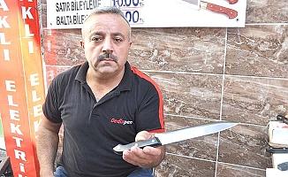 Bıçakçılar mesaide