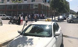 Buharaevler'de kaza