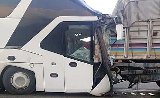 Çorumlu otobüs sürücüsü hayatını kaybetti