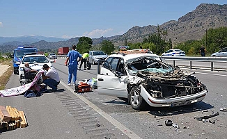 Osmancık'ta feci kaza