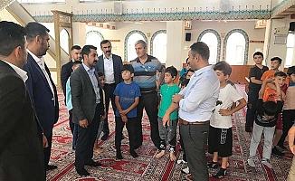 Ülkücülerden Kur'an Kursu ziyareti