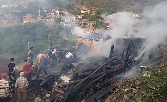 Yangın faciası, 2 ölü