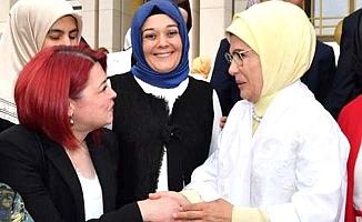 Meral Ahlatcı, Emine Erdoğan'ı Çorum'a davet etti