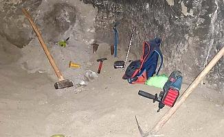 İzinsiz kazıya operasyon