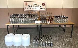 Kaçak içkiye tutuklama