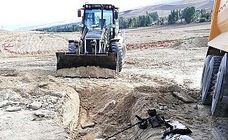 Paşaköy'de izinsiz kazıya 9 gözaltı