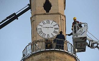 Saat Kulesi bakıma alındı