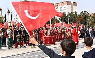 Çorum'da Cumhuriyet Bayramı