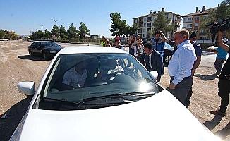 İstanbul yolunda pilav-ayran ikramı