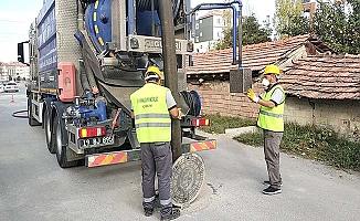 Kanalizasyon hatlarında temizlik