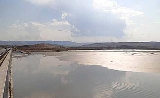 Obruk'ta su seviyesi düştü