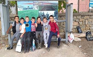 Ortaköy'den Osmancık'ın köyüne otobüs durağı
